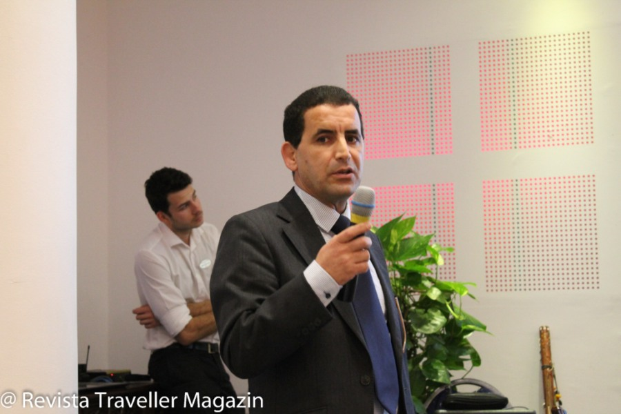 Regional manager Khalid Mimi