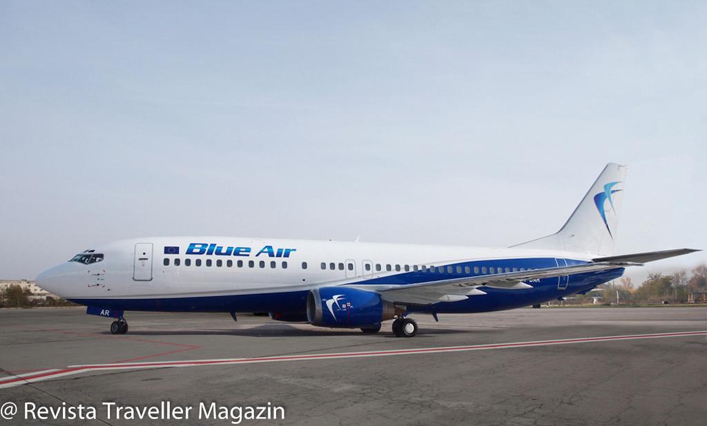 ev Blue Air - fleet -New livery